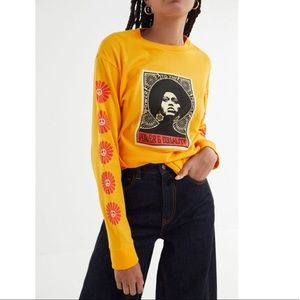 Womens OBEY Power & Equality Long Sleeve Tee